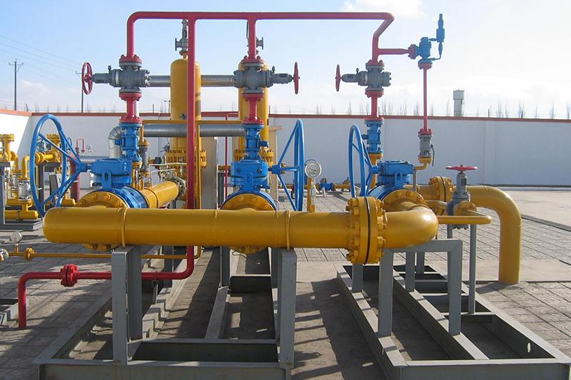 天然气安装管路