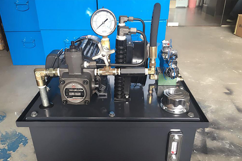 液压机械设备管路
